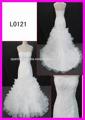encajes y deading vestido de novia al por mayor de la sirena de precios con bonito vestido de novia