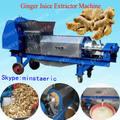1.5ton / h SUS304 jengibre doble tornillo de la máquina de prensado