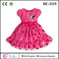 minnie nuevo vestido de polka dot para las niñas vestido de tul