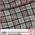comprobar la red o tiras algodón estampado franela tela para camisas