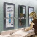 32 pulgadas Espejo de baño mágica mostrar anuncios