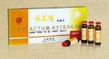A base de hierbas bebida - astragali extracto