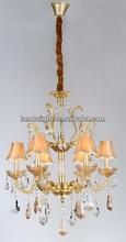 moderno comedor sala de cristal lámparas de araña