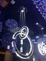 El más reciente 2013 luces led para el hogar, led de techo, de cristal de techo de luz led