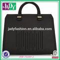 2014 nuevo diseño facción europa estilo de italia negro bolsa de bolsas de negocios para los hombres maletín de los hombres