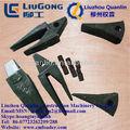 la construcción de la máquina liugong 72a0300 diente de la cuchara