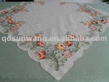 diseño de la flor mantel