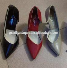 pasos bastante para mujer zapatos de vestir 2014 negro para mujer zapatos de vestir