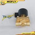 Cortar normalmente cerrado de agua de la válvula de solenoide de 12 voltios