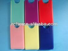 15ml, 20ml colorido botella de plástico, de perfume de plástico tarjeta de crédito botella, tarjeta de crédito de la botella