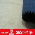 Estiramento do poliéster impermeável corta-vento softshell tecido de ligação para o revestimento de esporte como gore- tex
