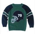 Suéter del cabrito de algodón de punto para niños