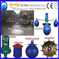 3.0kw arejador para lagoas de peixes bomba de oxigênio ventilador lateral do canal ventilador do anel