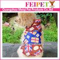 2013 Nuevo diseño del perro traje, capa de la manera del animal doméstico para el invierno, trajes para mascotas en venta