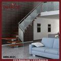Industrial de acero escalera/madera escalera de cristal