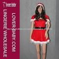 locamente en el amor con capucha del cabo madre de navidad traje de disfraces disfraces de navidad