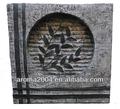 plaza de resina de las hojas de la decoración de interior fuente de decoración de la pared