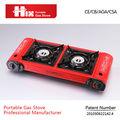 aprobado por la ce mejor precio butano propano gas estufa 2 quemadores