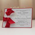 2014 real blanco en blanco tarjetas de invitación