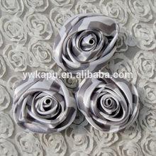 Popular vestido crianças decoração de flores, flores de tecido para vestuário