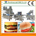 Máquina de hambúrguer cozido no vapor