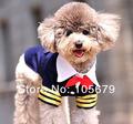Ropa C1014 perro FeetVest de primavera y verano para perros al por mayor del traje ropa Navy Perro