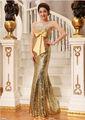 ae165 nueva moda delgado largo por encargo de lentejuelas de cuentas trajes de baile sexy vestido de noche 2013