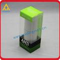 impresión plegable plástico caja de embalaje