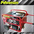 De gran alcance powerge tipo mini 5kw generador de gasolina