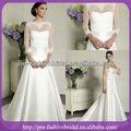 Sa-q354 простой сатинировкавысокий коллор шнурокдляботинок долго рукавах куртки дешевые свадебные платья сделано в китае