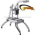 Aprobado por la nsf fácil comercial máquina de cortar la cebolla, máquina de cortar frutas cortador de