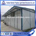 desmontable modular de estructura de almacén