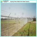 y de tipo post verde revestido del pvc del perímetro del aeropuerto cerca de china fabricante