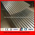 lamina de zinc para tecos de distintos colres de 2.5 mts de largo minimo y 0.80 cm de ancho