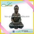 resina jardín estatua de buda para la venta