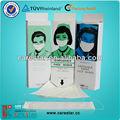 desechables 1 capas de máscara de papel