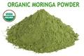 un súper alimento orgánico en polvo de moringa