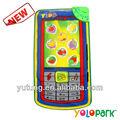 musical de teléfono móvil forma tapete de juego para los niños