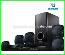 Calidad superior China de la fábrica 5.1 mini de cine en casa de altavoces con bluetooth QG357SD