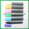 No- tóxico marcador fluorescente con los colores claros