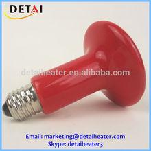 venta caliente 100w de infrarrojos de cerámica de calor de la lámpara