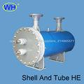 Fuerte envolvente del evaporador anti-corrosión y tubo intercambiador de calor para la piscina de agua de mar