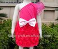 venta al por mayor diseño de vestido para niña un hombro de hadas vestido de los niños