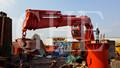 Fija Grúa Hidráulica Pluma Para Cubiertas Barcos Equipos Industriales