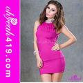 el último 2014 venta al por mayor de moda del club sexy mini vestido