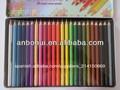 24 unidades jumbo lápiz de color; personalizar hacer lápiz de color;