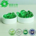 GMP del extracto de aceite suave Cápsulas Para las mujeres Belleza cápsulas de Aceite de aloe