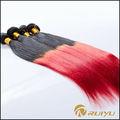 Nuevo y maravilloso hotsale 100% lima peru de color rojo del pelo peruana