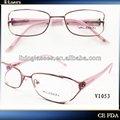 femenino estilo monturas de gafas