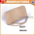 2014 caliente venta de carteras y las señoras bolso de imitación de piel de cocodrilo de grano de la cartera
